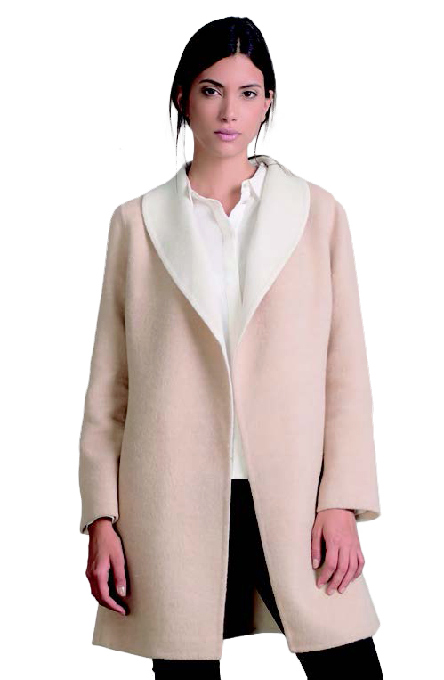 KUNA Coat - Remember - Ecru