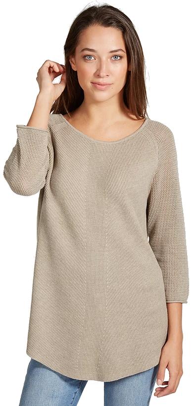 Damask Sweater - Flax