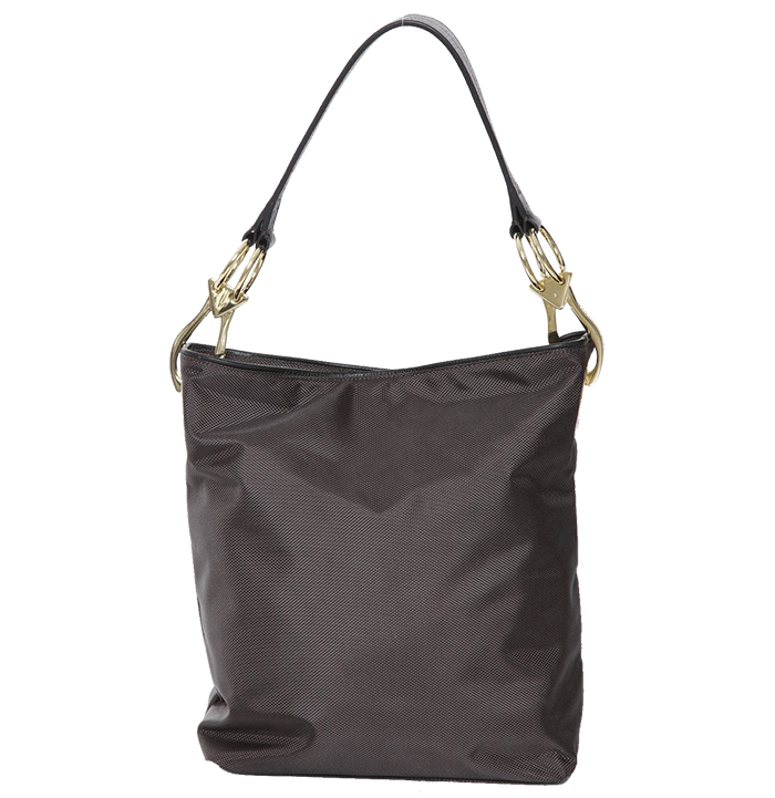 Nylon Bucket Bag - Anthracite