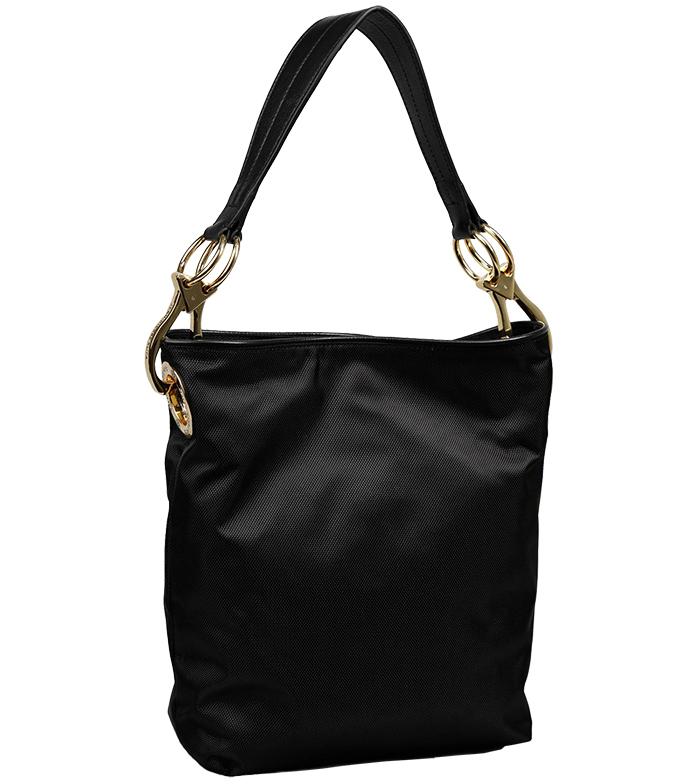 Nylon Bucket Bag - Black