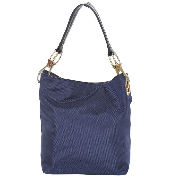 Nylon Bucket Bag - Navy