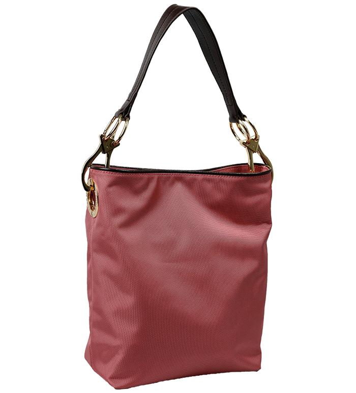 Nylon Bucket Bag - Rose