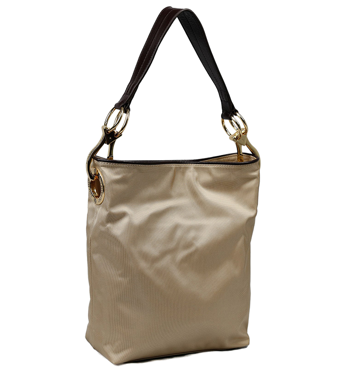 Nylon Bucket Bag - Sand
