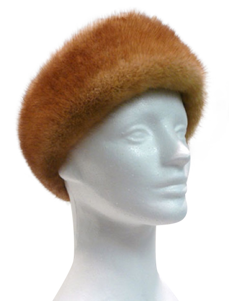 Whiskey mink headband - Item # AC0092