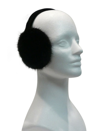 Ranch mink earmuffs - Item # AC0099