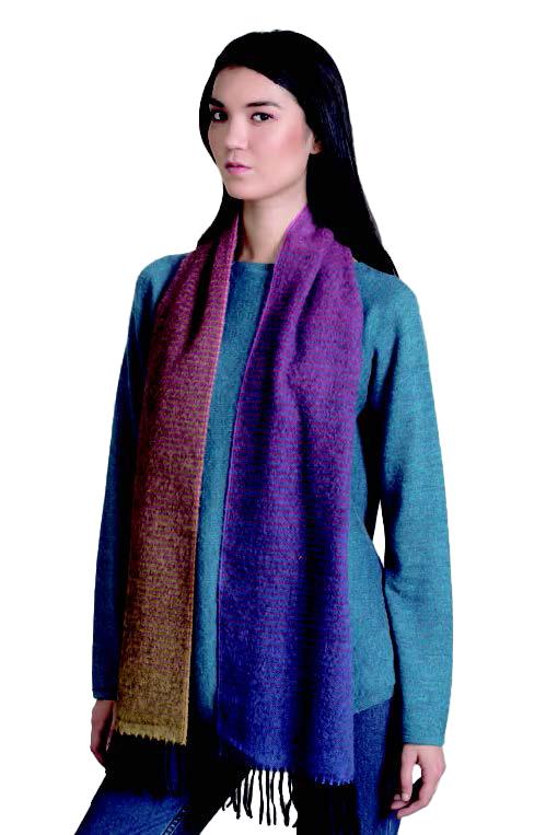 KUNA Scarf - Rasha - Multicolor