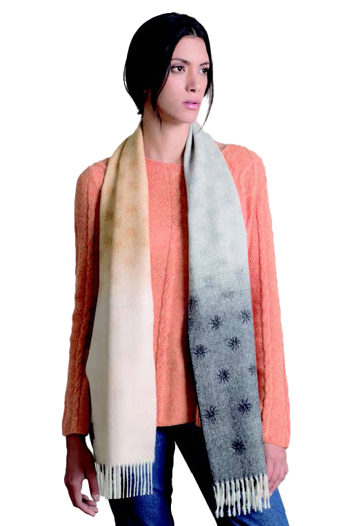 KUNA Scarf - Relampago - Gris