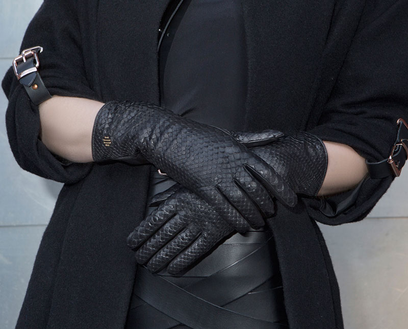 Hamerli Gloves - Black