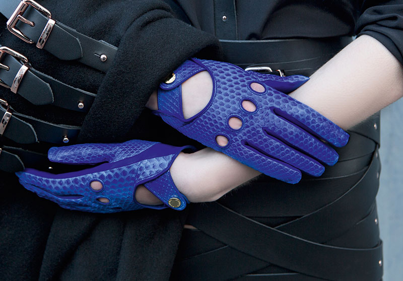 Hamerli Gloves - Dark Blue